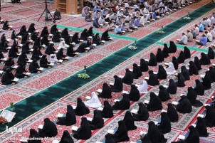 Shah Cheragh Mausoleum in Shiraz Hosts Quran Reading Session